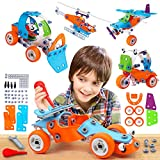 STEM Toys for Kids – Best 5-in-1 Building Projects Set for...