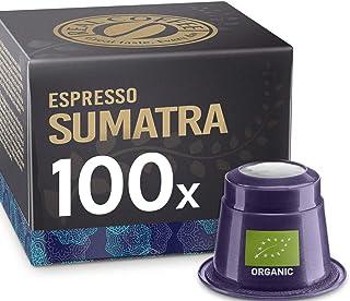 Espresso Sumatra, 100 Capsules, Organic, by REAL COFFEE, Denmark
