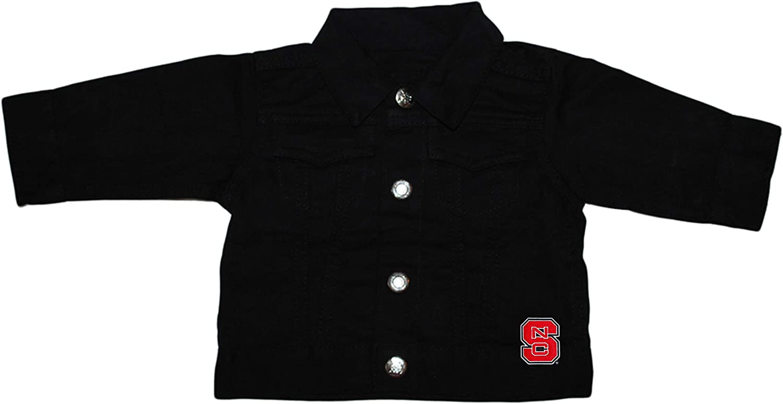 Creative Knitwear North Carolina State Denim Jacket University Large-scale sale 1 year warranty