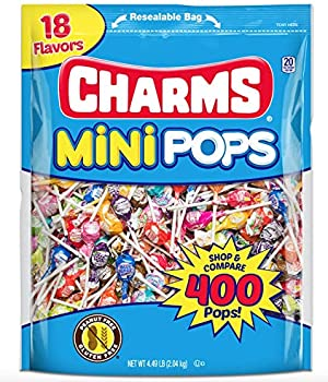 400-Count Tootsie Roll Charms Mini Pops