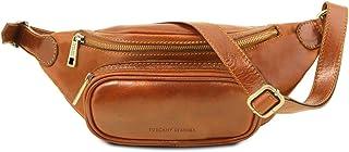 Tuscany Leather Marsupio in pelle Miele