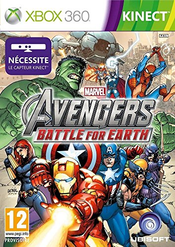 Marvel Avengers : battle for earth (jeu Kinect) [Importación francesa]