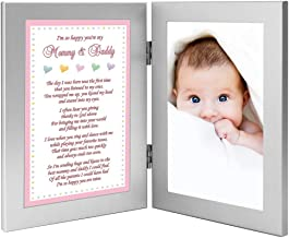 New Parents Gift, Sweet Poem from Baby Daughter, Add Photo