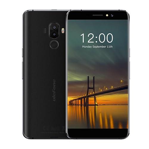 Ulefone S8 Pro 4G Smartphone Débloqué, Android 7.0, Triple Caméra, Écran 5,3'' HD IPS, Double SIM, 2G RAM+16G ROM, 3000mAh, Empreinte Digitale Téléphone Portable (Noir)