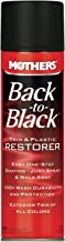 Mothers 06110 Back-to-Black Trim & Plastic Restorer Aerosol, 10 oz.