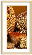 Imagen en un Marco de Madera de Color Natural - Imagen en un Marco - Cuadro sobre Lienzo - Impresión en Lienzo - 45x80cm - Foto número 2309 - Listo para Colgar - en un Marco - F1NPA45x80-2309