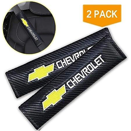 2pcs Set Chevrolet Car Seat Safety Belt Covers Leather Shoulder Pad Accessories Fit for Chevrolet Car Model