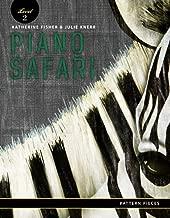 Piano Safari Pattern Pieces 2