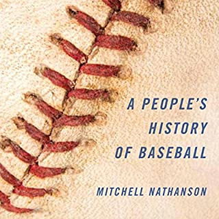 A People's History of Baseball audiobook cover art
