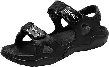Dearprias Summer Outdoor Mens Flats Casual Beach Athletic Shoes Non-Slip Sport Sandals