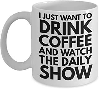 Daily Show Mug - The Daily Show Jon Stewart Coffee Mug