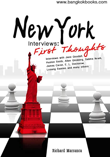 New York Interviews: First Thoughts (English Edition)