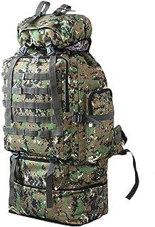 100L Militar Grande Senderismo Escalada Mochilas Mochila Camuflaje del Bolsillo Bolsas de Deporte Recorrido Que acampa Mochila Mochilas