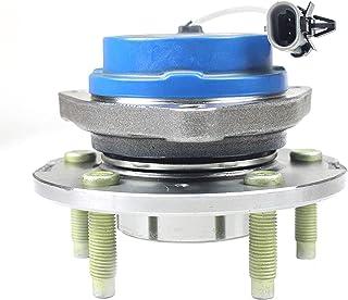 OUZHOU Framhjulnav lager rostfritt stål navlagerenhet för framhjul kompatibla, tystgående reservhjulstillbehör