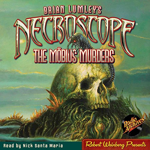 Necroscope #1: The Mobius Murders audiobook cover art