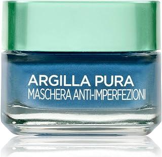 L'Oréal Paris Facial Mask Cleanser, Pure Clay, 50 ml Confezione Singola