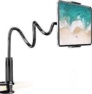 【2020年 タブレット 寝ながら アーム スタンド フレキシブルアーム iPad スマホスタンド 360°角度調整可能 取り付け簡単 iPad iPad mini iPad Air air2 iPadPro 任天堂 スイッチ iPhone XS XS Max XR X 8 plus 7 7plus 6 6s 6plus Samsung S7 S8 Note 6 Kindleに対応
