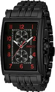 Men's 34833 Cuadro Quartz Multifunction Black Dial Watch