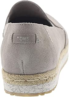 TOMS Women's Palma Woven/Tassel Ankle-High Fabric Slip-On Shoes