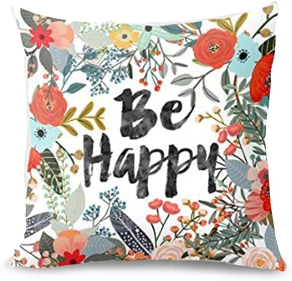 Throw Pillow Covers E Scenery Clearance Sale Thanksgiving Square Decorative Throw Pillow Cases Cushion Cover For Sofa Bedroom Car Home Decor 18 X 18 Inch E