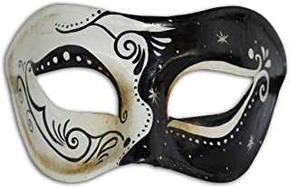Venetian Eye Mask Colombina Claudia for Men and Women