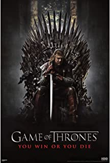 Pyramid Game of Thrones You Win or Y Wall Poster