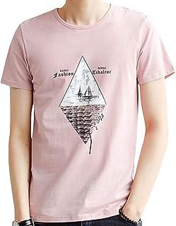 [ Smaids x Smile (スマイズ スマイル) ] トップス Tシャツ 半袖 涼 薄 おしゃれ プリント カジュアル クルー メンズ