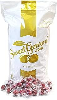 SweetGourmet Wrapped Filled Raspberries Hard Candies (3Lb)