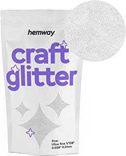 Hemway Craft Glitter 100g 3.5oz Ultrafine 1/128