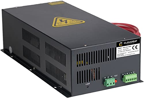 high quality Cloudray wholesale 150-180W CO2 Laser Power Supply AC90-250V HY-W150 for popular CO2 Laser Tube W Series online sale