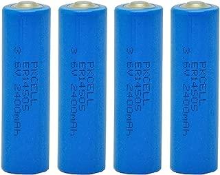 AA Size Battery 3.6V ER14505 2400mAh Lithium AA Battery 4 Pcs