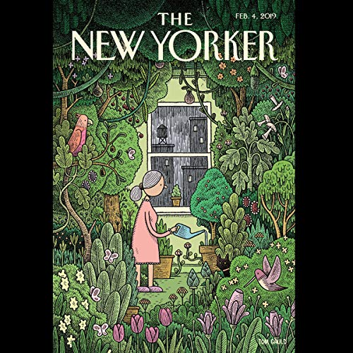 The New Yorker, February 4th 2019 (Carolyn Kormann, Sheelah Kolhatkar, Amy Davidson Sorkin)                   By:                                                                                                                                 Carolyn Kormann,                                                                                        Sheelah Kolhatkar,                                                                                        Amy Davidson Sorkin                               Narrated by:                                                                                                                                 Jamie Renell                      Length: 1 hr and 53 mins     Not rated yet     Overall 0.0