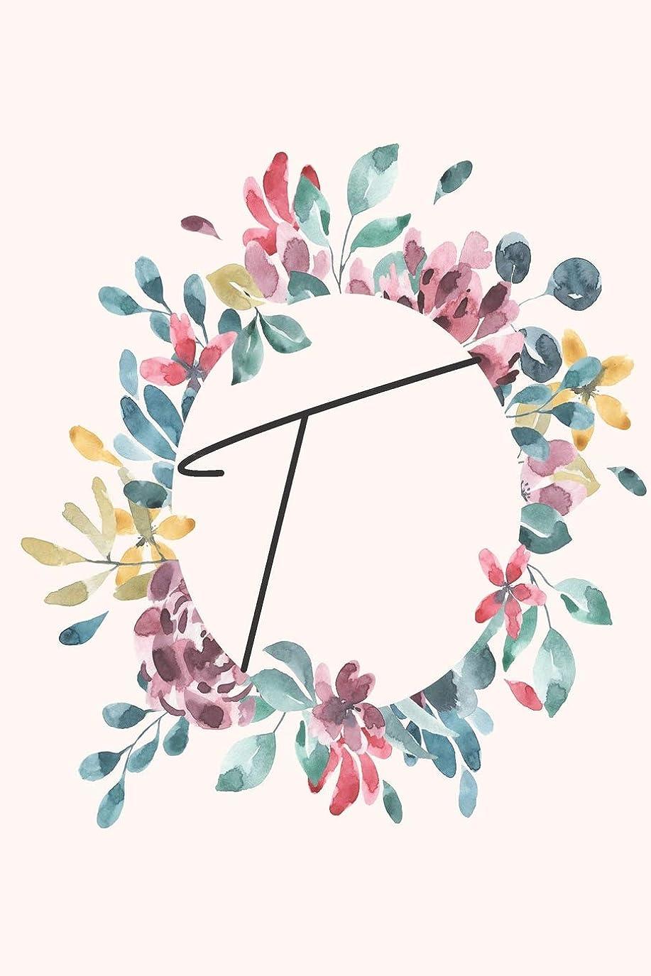 プロペラ害虫火薬T: Personalized Notebook Journal for florists, wedding planner, bride's maid gift, wedding decorators with floral cover college lined