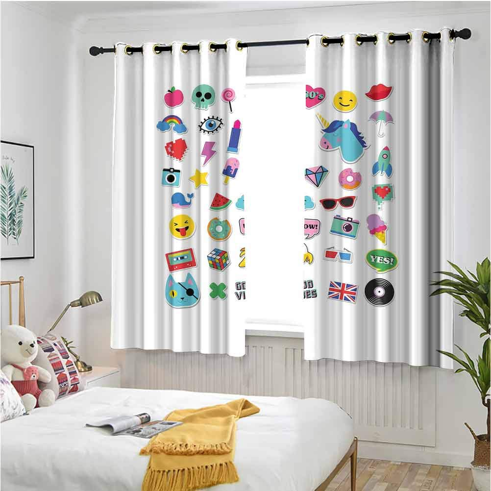Grommet Max 83% OFF Blackout Curtains Pop Culture Good Ranking TOP18 Ice Elements Cr Vibes