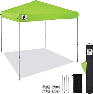Pop Up Canopy Tent, 10' x 10' Area, Peak Height 14', Includes Wheeled Bag, Ergodyne Shax 6010