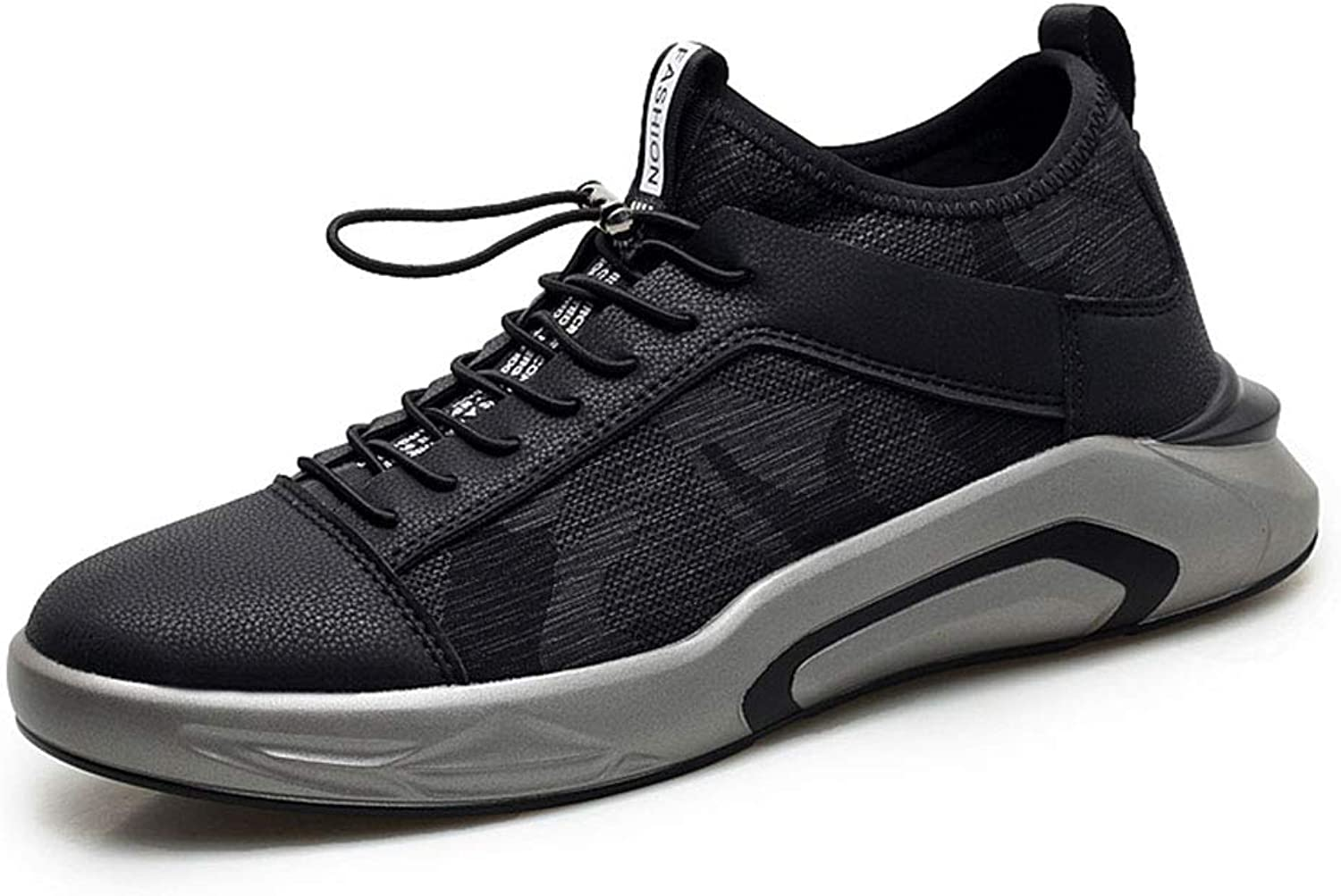 WYX Men's Casual Running shoes Mens Trainers Lace-Up Running shoes Lightweight Shock Absorption Outdoor Breathable Casual Walking shoes,B,45