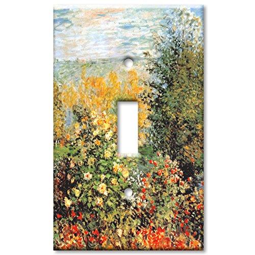 Monet: Stiller Winkle - Single Toggle Switch Plate