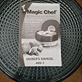 MAGIC CHEF ELECTRIC FOOD DEHYDRATOR...
