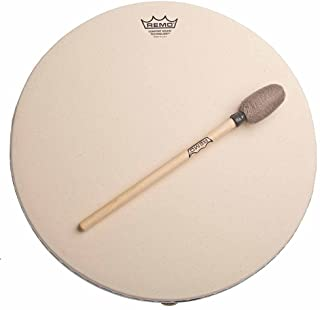 REMO 14-Inch Buffalo Drum Comfort Sound Technology, 832974