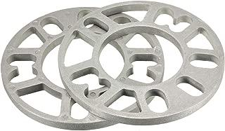 2PCS 3//5 tama/ño : 8mm 8//10 mm Universal aleaci/ón de aluminio separadores de rueda Shims Placa for 4//5 esp/árrago de rueda 4x100 4x114.3 5x100 5x108 5x120 5x114.3