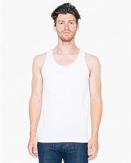 (アメリカンアパレル) American Apparel メンズ ファインジャージー タンクトップ 袖なし トップス