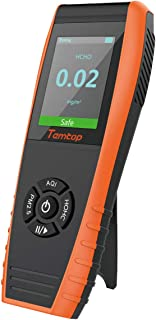 Temtop LKC-1000E Air Quality Monitor Formaldehyde Detector PM2.5/PM10/Particles Meter HCHO/AQI Tester
