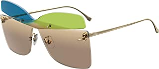 Authentic Fendi FF 0399 S 0RNB/HA Blue Green Sunglasses