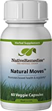 Native Remedies Natural Moves - All Natural Herbal Supplement Promotes Bowel Health and Regularity as Related to Constipation - 60 Veggie Caps