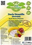 Stevia Streusüße Granulat mit Erythrit, 1er Pack (1 x 1kg)