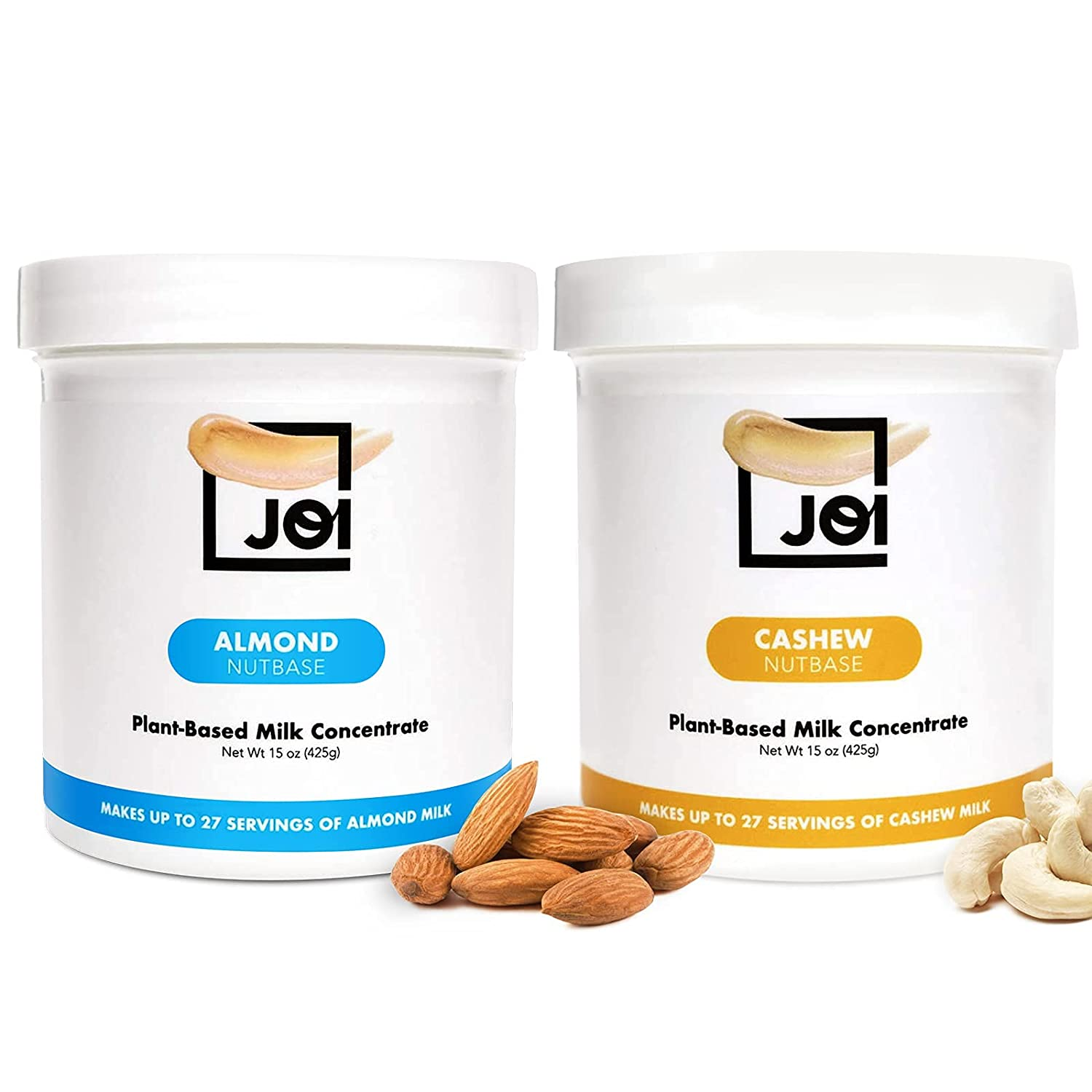 Unsweetened Almond and Cashew Milk Concentrate by JOI - 27 Servi