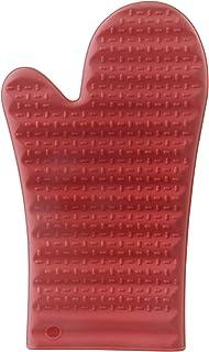 Mimo Style Luva de Silicone Vermelha, Suporta Temperaturas de Até 220ºC Sem Transferência de Calor e Sem Causar Ferimentos...