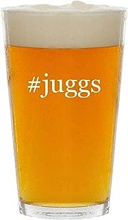 #juggs - Glass Hashtag 16oz Beer Pint