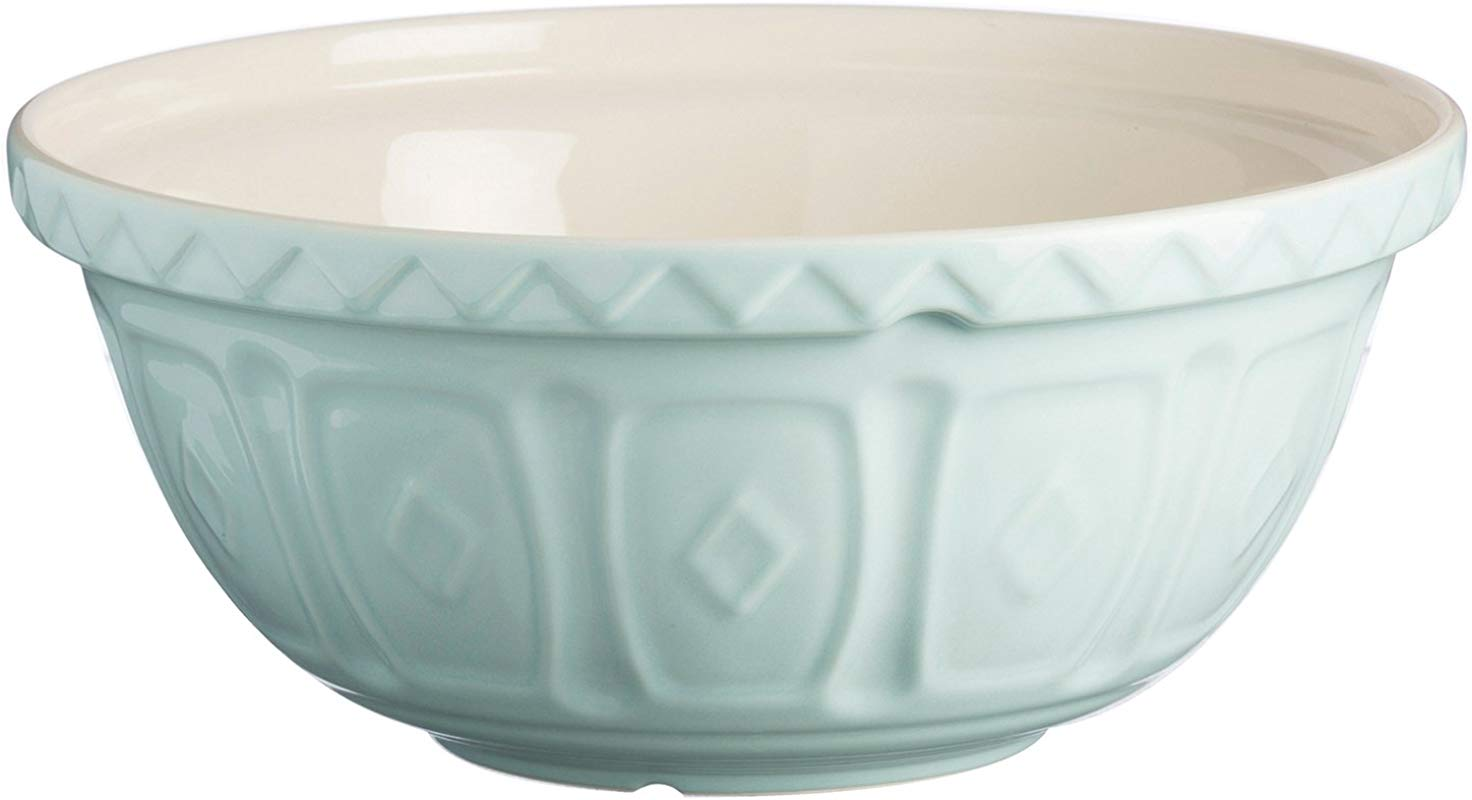 Mason Cash Earthenware Mixing Bowl S18 10 1 4 Inches Powder Blue