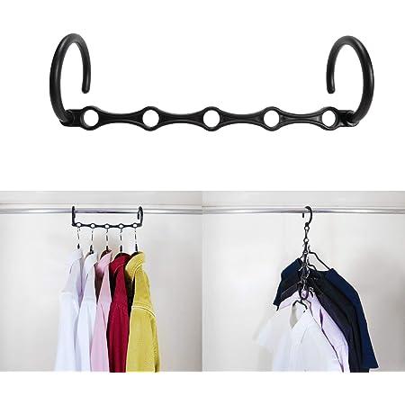 Niclogi Space Saving Hangers Magic Hangers 20 Pack Closet Space Saver Multi Hangers Space Saving Closet Organizer